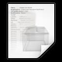 mimetypes text x rpm spec icon