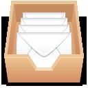 emails, inbox icon