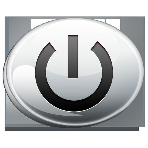 down, shut icon