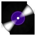 music, record icon