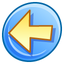 prev, backward, previous, back, arrow, left icon