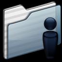 profile, account, people, folder, user, human, graphite icon