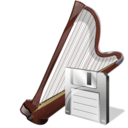 arpa,save,instrument icon