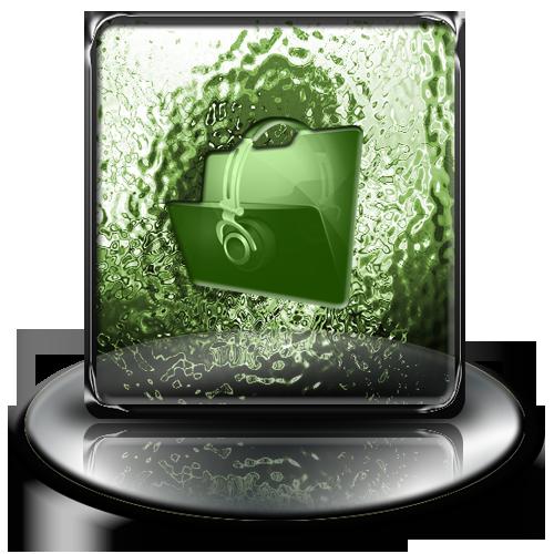 green, music, classic icon