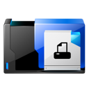 fax, print, and, printer icon