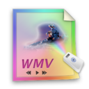 wmv,file,paper icon