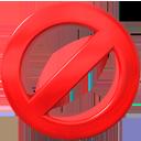 stop, delete, fail icon