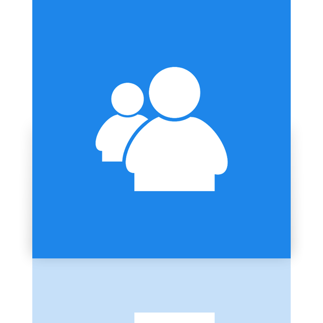 live, messenger, mirror, alt icon