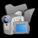 folder,black,video icon