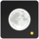 night, clear, weather icon