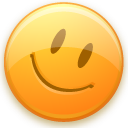 smile, emotion, funny, face, emot, smiley, good, happy, fun icon
