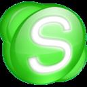 skype,green icon