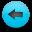 back, left, prev, arrow, previous, backward icon