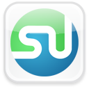 badge, social, sn, stumbleupon, social network icon