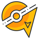 game, go, play, pokemon, zapdos icon