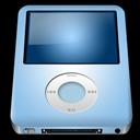 ipod, alt, blue, baby, nano icon