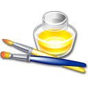 paint, graphics icon