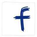 facebook,white,social icon