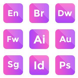 Adobe vol 8 icon sets preview