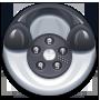 Phone, Round icon