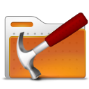 tool, folder, hammer icon