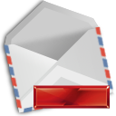 mail, delete icon
