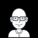 person, male, user, man, geek, avatar icon