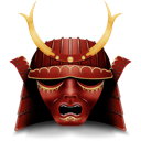 Mask, Samurai icon