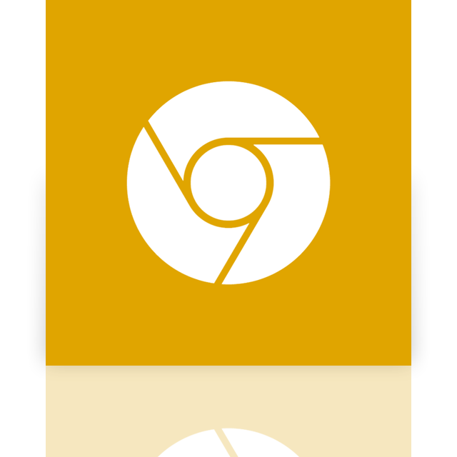 google, mirror, canary icon