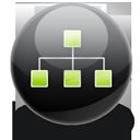 tree, sitemap icon