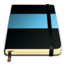 moleskine blue 512 icon