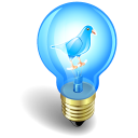 twitter bulb icon