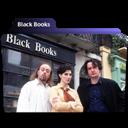 Black, Books icon