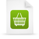 paper, document, file, green icon