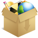 box, apps, applications, misc, dropbox icon