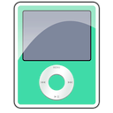 ipod, foam, nano, 3g, sea icon