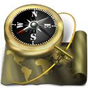 map, world, globe, sailing, exploration, earth, explorerv, navigation, old, atlas, antique, compass icon
