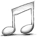 Music, Off icon
