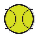 play, tennis, ball, game, sports, sport icon