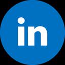 linkedin, blue linkedin, linkedin logo icon