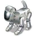 technology, dog, robot, pet icon