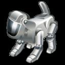 technology, dog, robot, pet icon