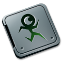 folder,burned,rokey icon