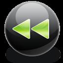 fast backward icon