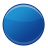 circle, i, blue, ball icon