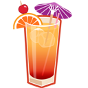 Cocktail, Sunrise, Tequila icon