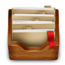 wooden images, folder, wooden, bright images icon