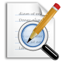 old, edit, write, seek, writing, find, replace, search icon