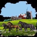 animals,horses icon