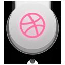 off, dribbble icon